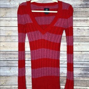 AEO Cable Knit Wool Blend Pull over sweater XS/TP